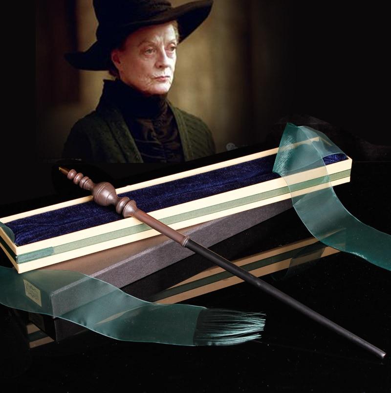 Harry Magic Stick With Metal Core Wand Minerva McGonagall Non-luminous Magical Wand