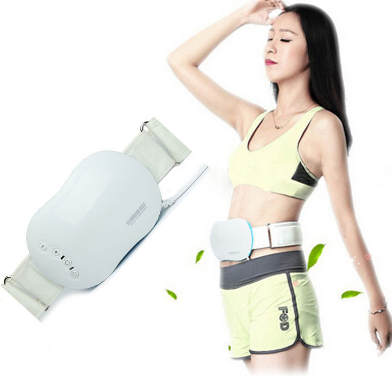 Women Slimming Belt Vibration Massager Waist Belly Sculpt Massage Belt Vibrating Fat Burning Body Shapers Fitness Weight Loss body slimming massager electric fitness vibrating device massage belt fat burning thin waist leg belly machine weight losing