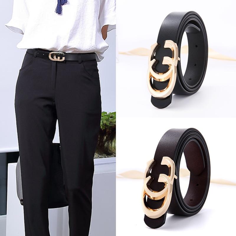 women's Female Genuine Cowskin   Belt   Skirt Long Shirt Outside Wear Fashion Leisure   Belt   luxury quality designer   belt   women   belts