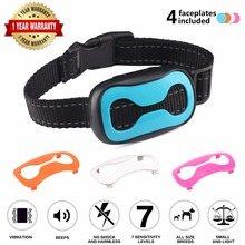 Anti Bark Device Dog Training Collar Pet Agility Product No Bark Collar Dog Collar Electronic Fit All Dogs Stop Barking ultrasonic audible control no bark collar stop barking dog training device