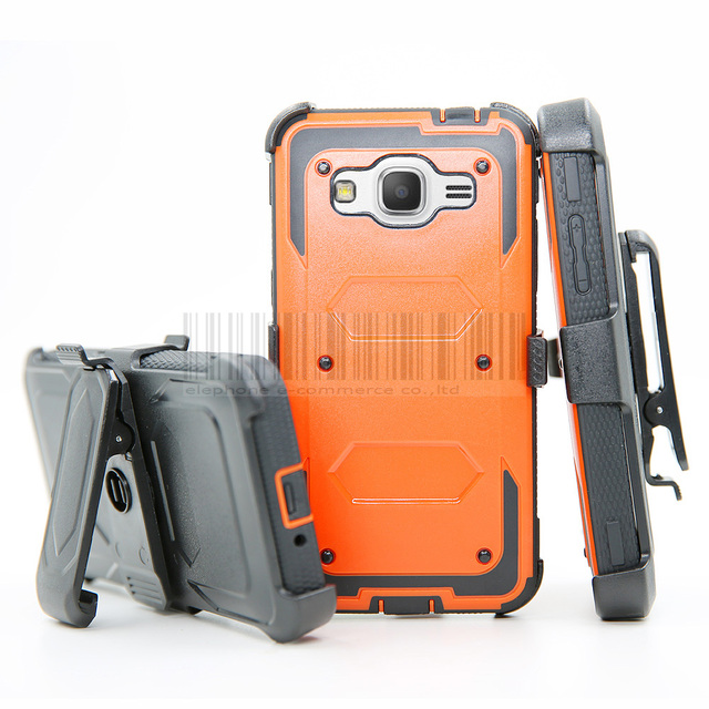 newest 1c2aa 98aed For Samsung Galaxy Core Grand Prime/Note 5 8/S6 S7 Edge S8 Plus/On5 J1 A5  J3 J5 J7 2016 2017 Armor Case Holster + Belt Clip