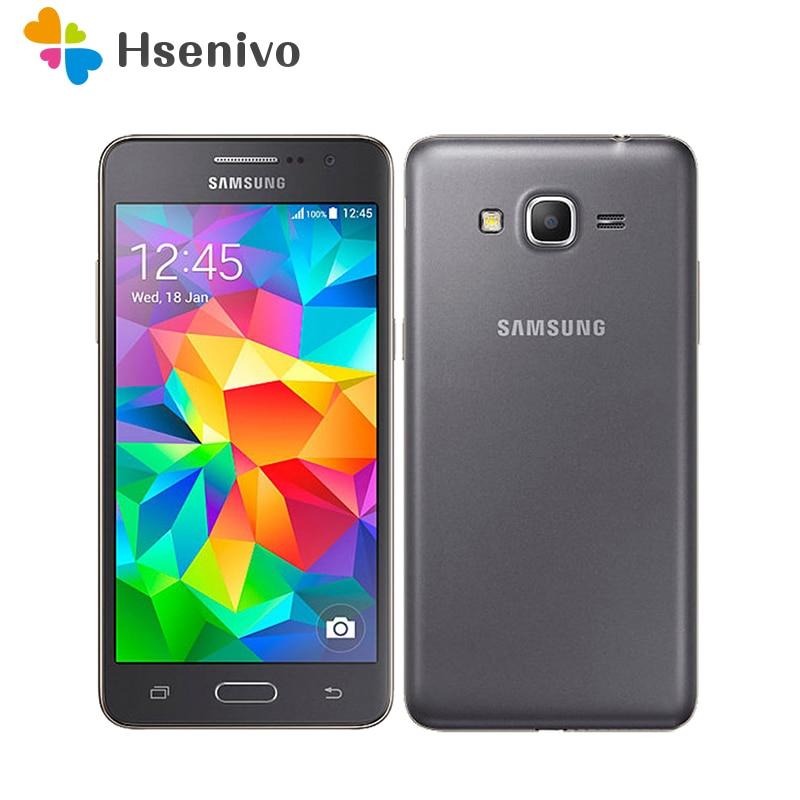 Original Samsung Galaxy Grand Prime G530 G530H débloqué téléphone portable Ouad Core double Sim 1 GB RAM 5.0 pouces écran tactile remis à neuf