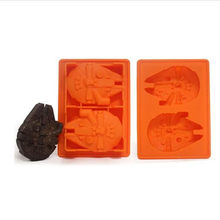 Star Wars Millennium Falcon Silicone Ice Cube Tray Chocolate Mold Dapur Aksesoris(China)