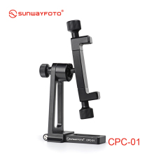 SUNWAYFOTO CPC-01 Mobile Phone Accessories Professional Desk and Stand Professional Tripod Ballhead Phone Holder  Bracket