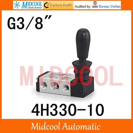 High quality hand-Pull valve manual valve SHAKO port 3/8 4H330-10 control Manual valve high quality hydraulic valve cvi 32 d10 h 40