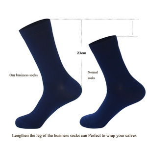 Image 3 - LIONZONE 8Pairs/Lot Pure Color Bamboo Socks for Men Breatheable Warm No Smell Man Brand Gentleman Business Dress Socks Long