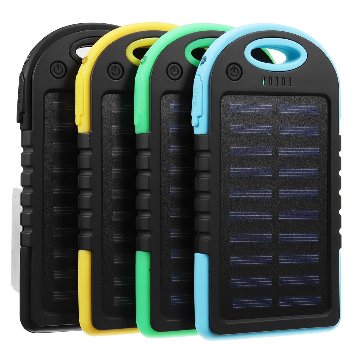 Tragbare 30000 mah Solar Power Bank USB Batterie Ladegerät Für Telefon Tablet Notebook