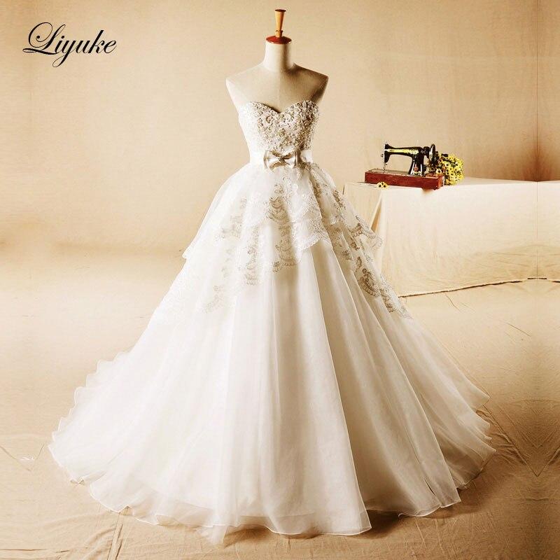 Элегантное Тюлевое свадебное платье трапециевидной формы с вырезом лодочкой с вышивкой бисером