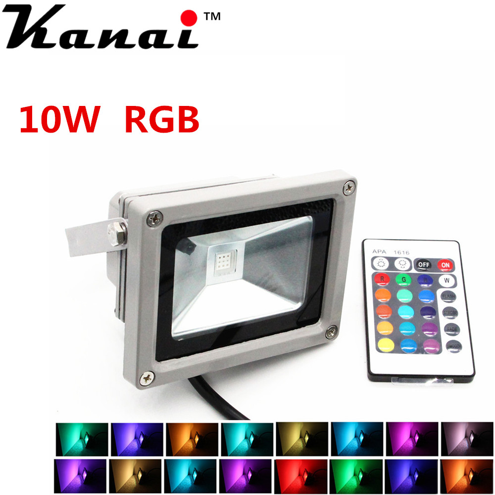 NEW outdoor RGB Warm white led flood light 10W 20W 30W 50W 100W wall light high