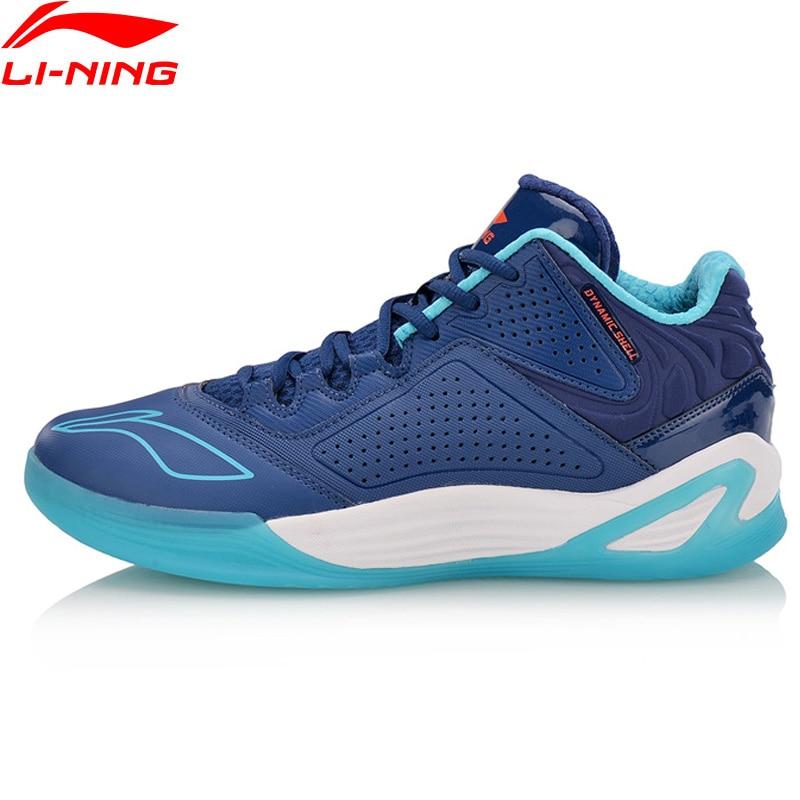 Li-Ning Hommes DESERT EAGLE Sur Cour de Basket-Ball Portable Doublure Sport Chaussures DYNAMIQUE SHELL Sneakers ABPN005 XYL142