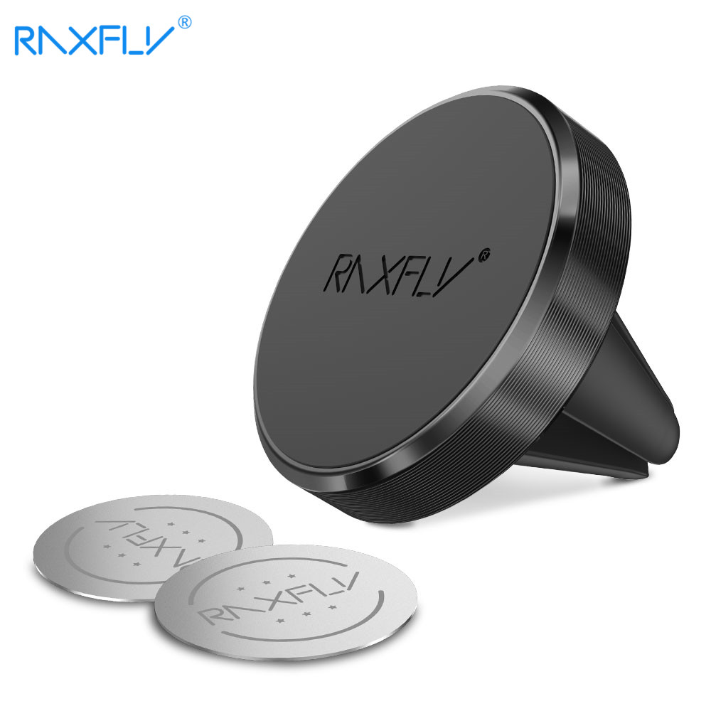 RAXFLY Magnetic Car Holder For Phone In Car Phone Holder Stand For Phone Universal Air Vent Support For Xiaomi Huawei P20pro P10