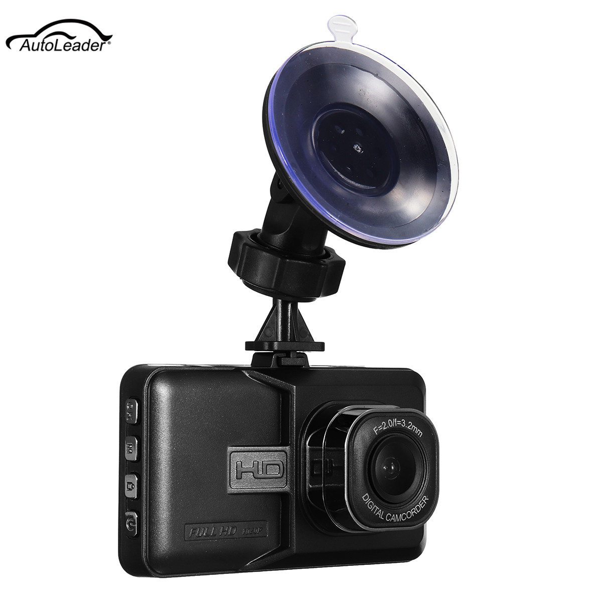 Autoleader Car Dash Cams 1080P HD Car Vehicle DVR Camcorder Action Video Camera 120 Degree Wide Angle For Cars Night Vision