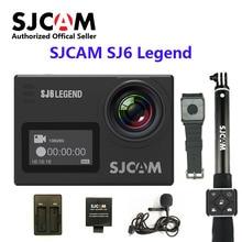 SJCAM SJ6 Legend 2' Touch Screen Remote Action Helmet Sports DV Camera Waterproof 4K NTK96660 16MP RAW with Front Screen
