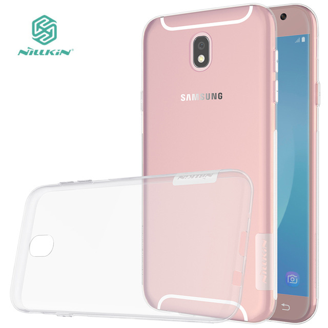 new style d888d 11f21 US $4.49 10% OFF|NILLKIN Nature Transparent TPU Case For Samsung Galaxy J7  2017(J7 PRO) Clear Soft Back cover For Samsung J7 2017 Case-in Half-wrapped  ...
