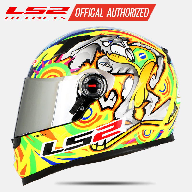 LS2 FF358 casque moto rcycle intégral Alex Barros moto cross racing casco moto casque capacete ls2 Original ECE approuvé