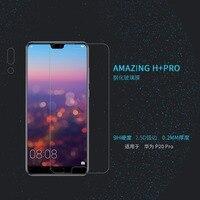 Huawei Lite P20/Huawei P20 Pro Protetor de Tela De Vidro Temperado NILLKIN Surpreendente H + PRO Nanômetros Anti-Explosão Filme De Vidro 2.5D