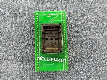 Тестовая розетка SOP48 TSOP48 IC, адаптер программатора, горящая розетка, 1 шт., WL-TSOP48-U1