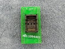 Soquete de teste WL TSOP48 U1 sop48 ic, programador e adaptador de tomada queimada, 1 peça