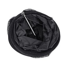 1.5M Fish Net Cage Fishing Tackle Care Creel 5 Layers Collapsible Black