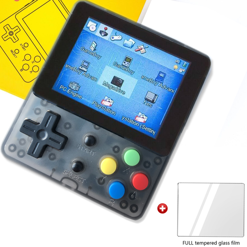 OPEN SOURCE LDK Tempered glass 2 6inch Screen Mini Handheld Children Family Retro Three colors in