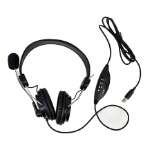 цена на LIMSON 1.9M Wired USB Headband Headphone Noise Canceling Stereo Gaming headset with Microphone