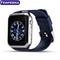 Femperna 2017 Новый Носимых Устройств GD19 Smart Watch Android Подключен Часы Смарт-Вах Поддержка Sim-карты Слот ПК GT08 GV18