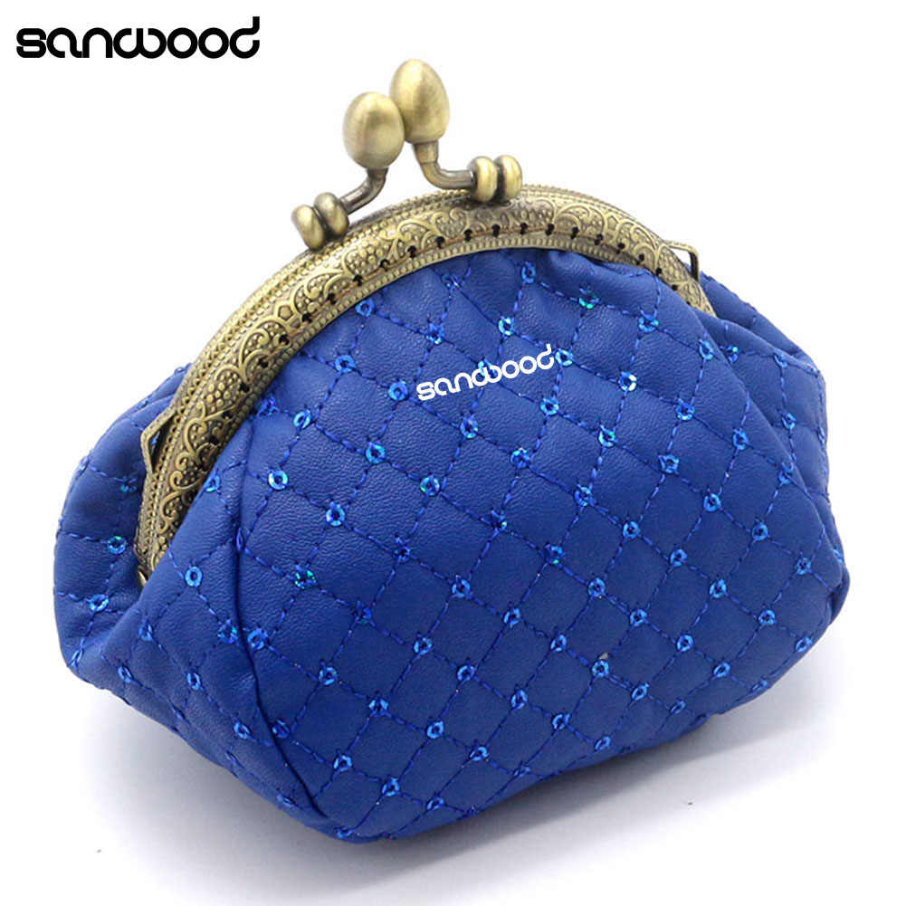 Vrouwen Mode Rhombic Patroon Wallet Card Portemonnee Clutch Handtas Mini Bag