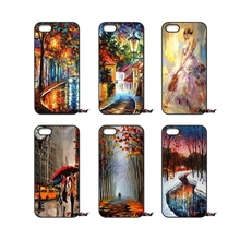 For Samsung Galaxy Note 2 3 4 5 S2 S3 S4 S5 MINI S6 S7 edge Active S8 Plus aura of autumn Leonid Afremov Oil Painting Case