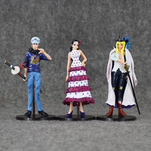 Rebecca Cavendish Boa Hancock Trafalgar Law Figure set 6pcs 13-14cm