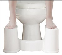 In 2016 A New Toilet Shoes Or Stool Crouch Hole Artifact Squat Toilet Stool Can Tear