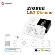 وحدة التحكم الذكية في شرائط إضاءة زيجبي zll من غليدوبتو ، متوافقة مع تطبيق زيجبي 3.0 يعمل مع أمازون إيكو بلس