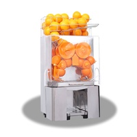 Commercial Large Juicer Machine Stainless Steel Automatic Machine Fresh Fruit Orange Juicing Equipment Juicer 2000E 2