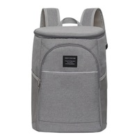 18L Cooler Backpack Thermal Insulated Ice Pack Oxford Food Lunch Box Waterproof Picnic Thermo Beer Shoulder Bags Large Capacity