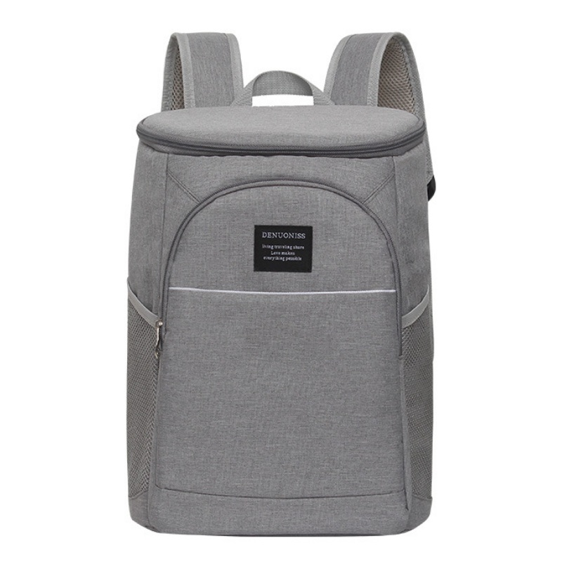 18L Cooler Backpack Thermal Insulated Ice Pack Oxford Food Lunch Box Waterproof Picnic Thermo Beer Shoulder Bags Large Capacity image