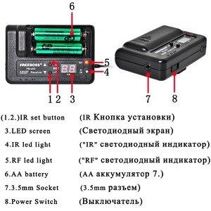 Image 3 - FREEBOSS FB U03 2M 1 דרך 100 ערוץ מתכת כף יד משדר אלחוטי מיקרופון מצלמה מיקרופון מסיבת קריוקי מיקרופון