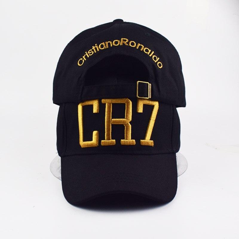 Fashion Style Cristiano Ronaldo CR7 3D embroidery Baseball Caps Hip Hop Caps  cotton adjustable Snapback Hats 897acfe7bc5