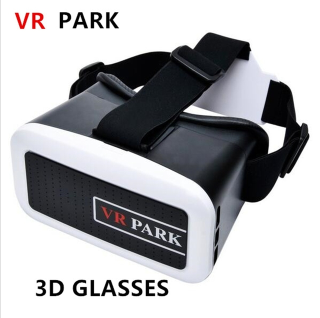 VR BOX Google Cardboard PARK Plastic VR SHINECON 3D Virtual Reality Glasses for iphone samsung htc meizu xiaomi huawei lg