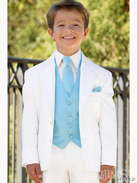 Boys Suits 5 Piece Wedding Page Boy Party Prom Suit Blue Black Grey Baby-14 Yrs