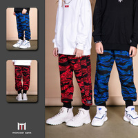 Spring 2019 Camouflage Print Casual Boy's Trousers Children Sport Cotton Pants Teenage Clothing 6 8 10 12 14 15 years