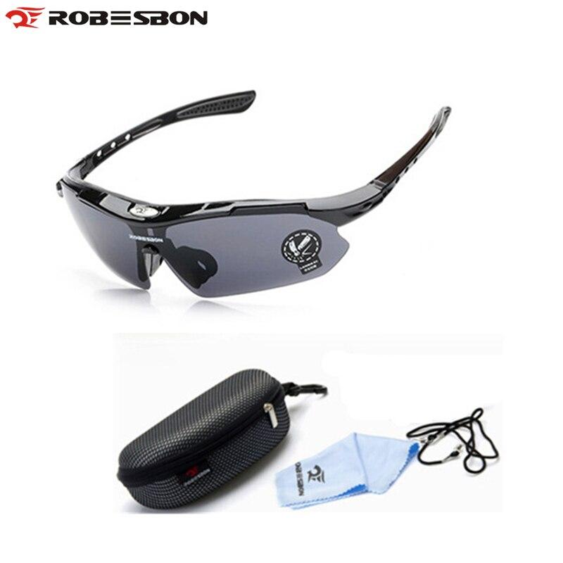 ROBESBON New outdoor camping   caminhadas tactical goggles óculos de sol  polarizados motoristas homens ciclismo equitação óculos de sol ebeeb65e02