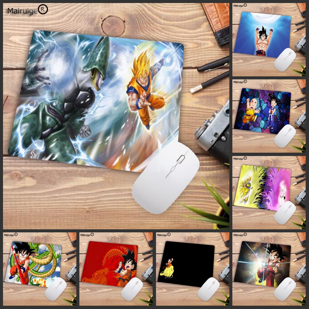 Mairuige Big Promotion Boy Mat Pad Dragon Ball GOKU Laptop Computer Anime Waterproof Mousepad Size 18x22cm Gaming  Mouse Mats