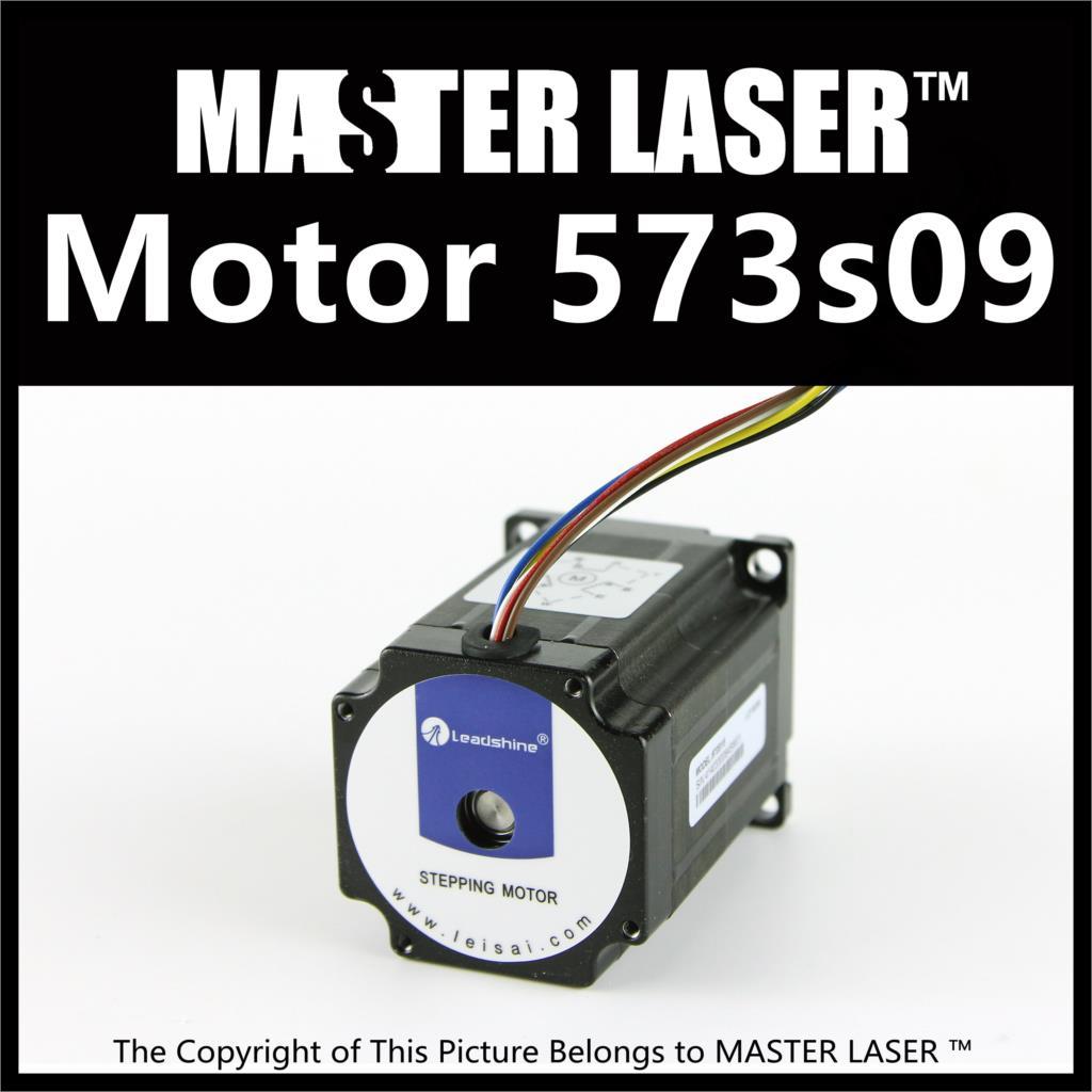 CO2 Laser Cutting Machine Step Motor 573S09 3 Phase Stepper Motors nema34 3 5nm 500oz in 2ph 2 8a d 9 5mm stepper motor 86hs35 laser machine