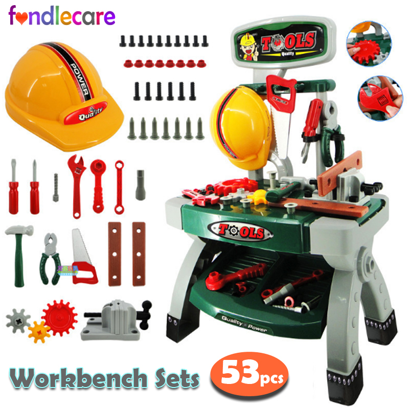 Construction Play Toys : Fondlecare kids play pretend toy engineering tool set