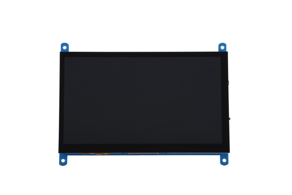 Image 3 - New 7 inch 1024x600 USB HDMI LCD Display Monitor Capacitive Touch Screen Holder Case For Raspberry Pi 3 B+ 3B Plus-in Demo Board Accessories from Computer & Office