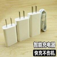 1000 шт. зарядное устройство для мобильного телефона USB штекер 4A вспышка Зарядка Высокая скорость 3A android телефон Универсальный 2A Быстрая заряд