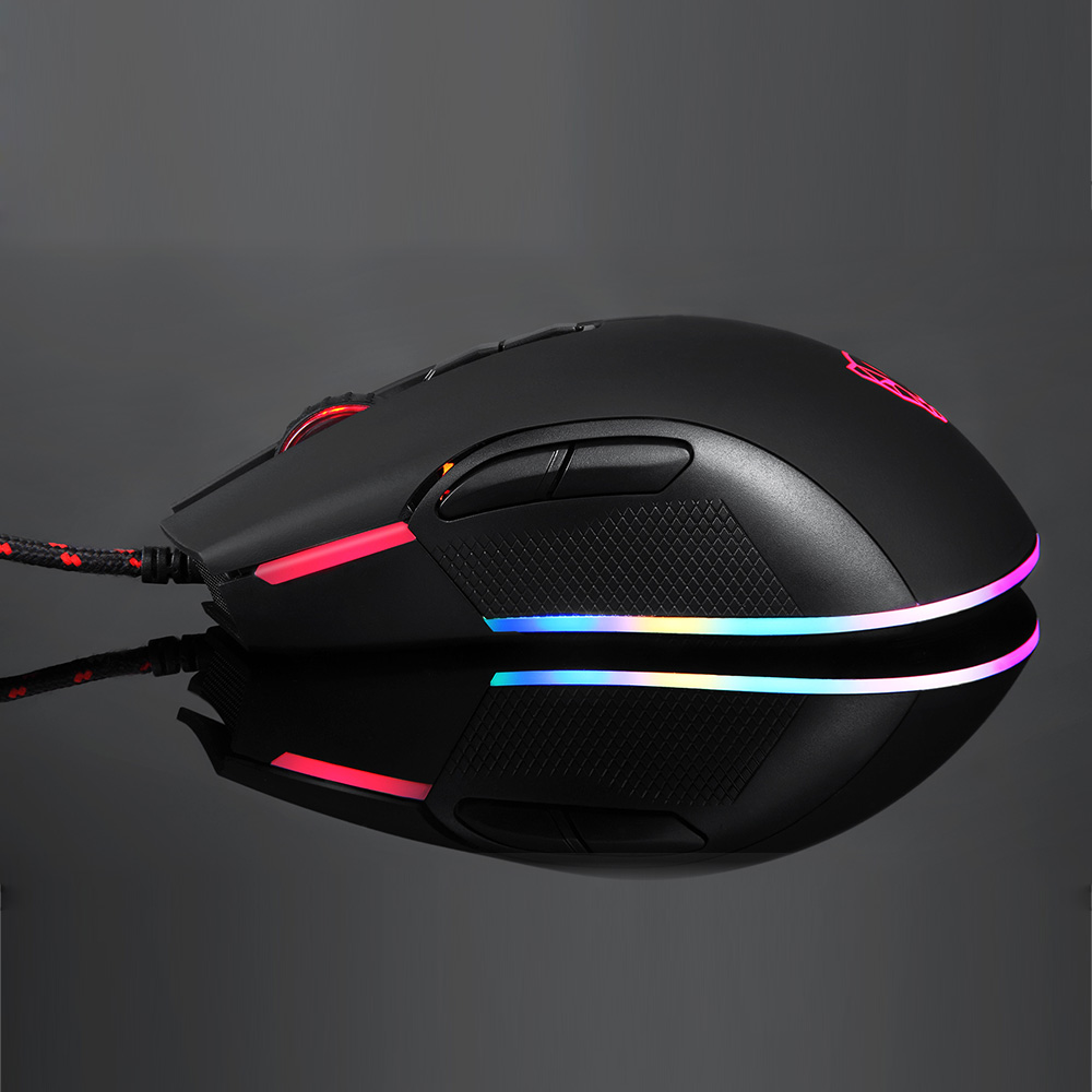 Motospeed V70 USB Wired PUBG Gaming Mouse PMW3325 5000DPI PMW3360 12000 DPI  RGB LED Backlight Optical Mouse For PUBG FPS Gamer