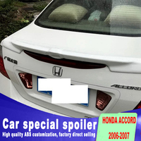2006 2007 year for honda accord rear trunk spoiler DIY paint any color high quality stable ABS material spoilers