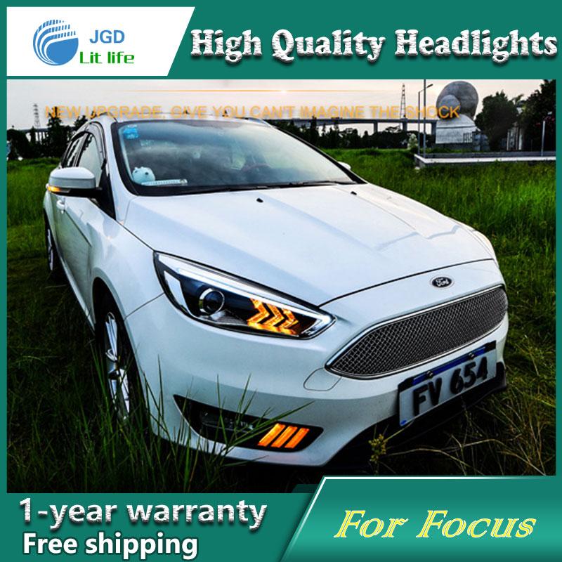Ford Focus 2015 fənərləri üçün işıqlandırma üçün - Avtomobil işıqları - Fotoqrafiya 2