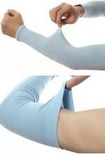 Men's Korea Ice Male Short Sleeved Cuff Oversleeve Sunscreen UV Outdoor Arm Warmers