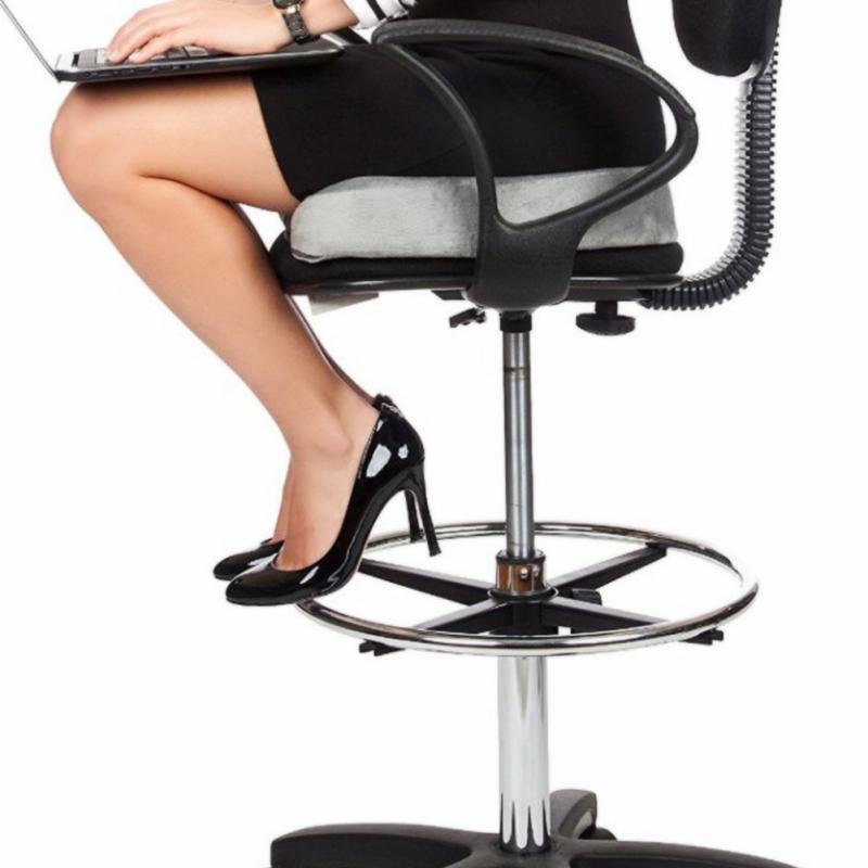Comfort Memory Foam Seat Lumbar Cushion Office Chair Pads Car Flight Seat  Travel Home Chair For